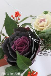 正月花と干支飾り♪ - Blanc de Blancs