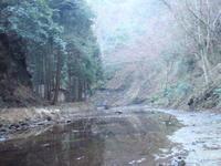 開墾場の滝 1/1 - 犬の一歩