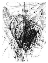 描き初め - アートバカのこども心