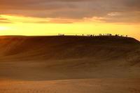 夕暮れの砂丘 - アオイソラ