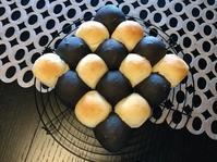 白・黒チョコのちぎりパン - パン教室  ローズのマリ