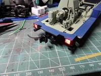 アオシマのDD51 テールライトにLED組み込み - Sirokamo-Industry