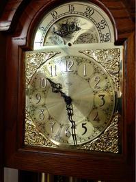 Ridgeway グランドファーザーズクロック修理 - トライフル・西荻窪・時計修理とアンティーク時計の店