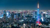 六本木ヒルズからの東京タワー - koushin Photograph &マグナ250