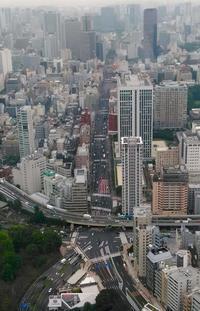 東京タワーのお膝元にて - 黄色い電車に乗せて…