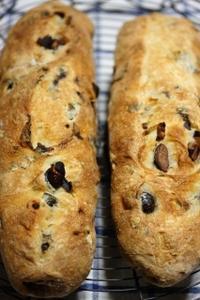 黒豆入りのパンと甘酒アイス - 葡萄と田舎時間