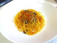 ブラックオリーブと野菜の【ポモドーロ】スパゲッティ - ロックな男のプチ本格料理