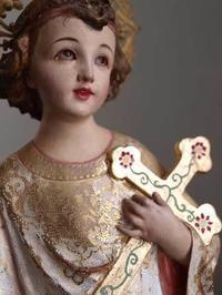 十字架を抱く幼子イエス  /181 - Glicinia 古道具店