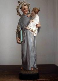 パドヴァの聖アントニオと幼子イエス像   /180 - Glicinia 古道具店