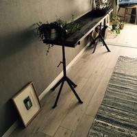 古木と鉄のディスプレーテーブル - sol y sombra  【IRON WORK FACTORY 】