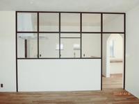 アイアンフレームの窓 1 - sol y sombra  【IRON WORK FACTORY 】