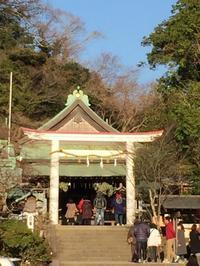 今日は病院から鎌倉宮へ - わたしの好きな物