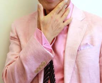パーソナルカラー「サマー」で骨格スタイル「ストレート」の男性です( ᵔᵒᵔ )♡ - サロン・ド・ブロッサム(パーソナルカラー診断&骨格スタイル分析、ファッションセラピーin広島)