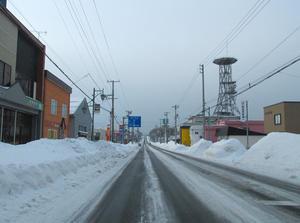 羽幌のメインストリート... - 羽幌遊歩のおまけ