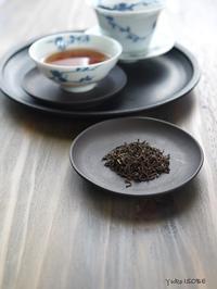 プーアール熟散茶2015'「プーアール茶の楽しみと春節の点心」@はじまりのカフェ - お茶をどうぞ♪