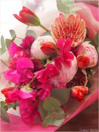 フラワールーシュお花の会☆ 1月レッスンのお知らせ - ルーシュの花仕事