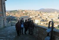 ペルージャ中心街・チョコレート工場を遠来の友と、マルケ州イタリア語学校の同級生と14年ぶりに再会 - ペルージャ イタリア語・日本語教師 なおこのブログ - Fotoblog da Perugia