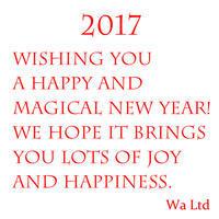 Happy New Year 2017 - 「わ」が綴る日記