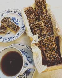ゴマのフロランタン - 調布の小さな手作りお菓子・パン教室 アトリエタルトタタン