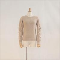 < THE FACTORY > Yak Wool Cable Knit (ladies) - clothing & furniture 『Humming room』