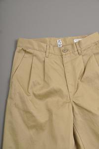 KATO 2 Tuck Wide Pants - un.regard.moderne