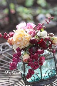 アリスの庭ー冬のメンテナンスほぼ終了 ♪ - O's garden へ ようこそ~ ♪