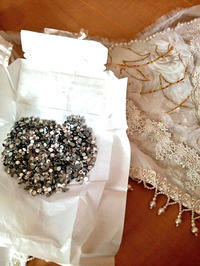 白の女王ドレスをつくります4 - Atelier kacche