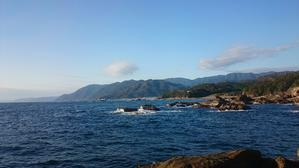 Rock shore fishing 2 - フライフィッシングとうまい魚のブログ