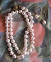 Akoya pearl necklace - minca's sweet little things