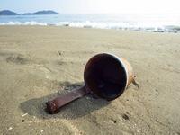 浜歩き始め - 今日も渚で日が暮れて