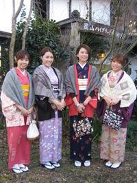 香港から来られましたお嬢様たち、楽しそう。 - 京都嵐山 着物レンタル&着付け「遊月」