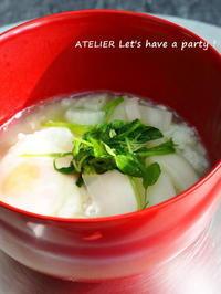 七草粥で無病息災を祈ります~♪ - ATELIER Let's have a party ! (アトリエレッツハブアパーティー)         テーブルコーディネート&おもてなし料理教室