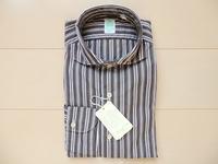 フィナモレ オルタネイトストライプシャツ - モノ好き男のブログ