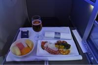 スペイン旅行  機内食 往路 - ジェイクnoチカラ リターンズ!