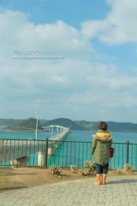エメラルドのお正月①**in 山口県・角島大橋 - きまぐれ*風音・・kanon・・
