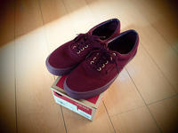 Vans Era Gold Mono Red - Dear Accomplices