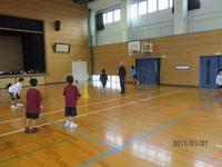 平成29年初練習 - 日出ミニバスケットボール