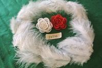 ☆ 新春 の 薔薇  { タティングレース }   ガレット・デ・ロワ - アトリエ*julia*タティングレース