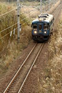 あおまつ撮ってあかまつ - 今日も丹後鉄道