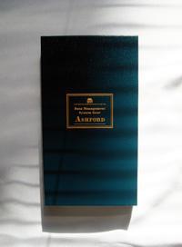 ASHFORDの白いダイアリーカバー - ケチケチ贅沢日記