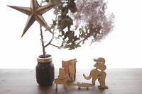 クリスマスツリーの下で(写真部門) - 家族の風景