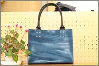 手持ちバッグ 外縫い - 革職人 TOSHI