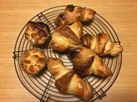 クロワッパン 焼きました 焼けました - パンと焼き菓子の記録