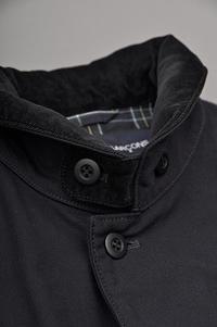 COMME des GARCONS HOMME Garment Dyed Military Coat - un.regard.moderne