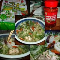 ベトナム麺 フォー - 『車いすで楽しめる食事処』・レシピ&ガーデニング