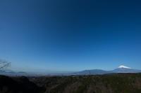 富士山の見える景色 001 - 感動模写Ⅱ