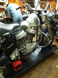 日曜日の授業風景 - Vintage motorcycle study