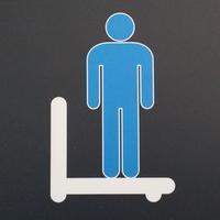 トイレの表示(18)~ 体重計?~ - ご無沙汰写真館