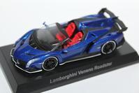 1/64 Kyosho Lamborghini 6 Online Ver. Veneno Roadster - 1/87 SCHUCO & 1/64 KYOSHO ミニカーコレクション byまさーる