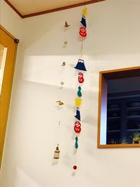 我が家の正月飾り - 本日、吉日。